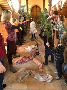 inzug nach jerusalem im kindergarten